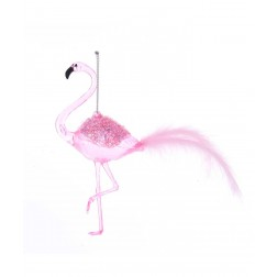 "Image of 6.3""Pink Flamingo Orn"