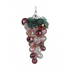"Image of 4""Irridescent Bead Grapes Orn"