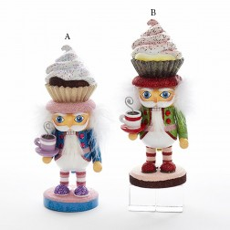 "9"" Hollywood Cupcake Hat Nutcracker"