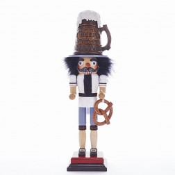 "18"" Hollywood Beer Guy Nutcracker"