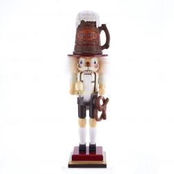 """Image of 17.5""""Hllywd Beer+Pretzel Nutcracker"""
