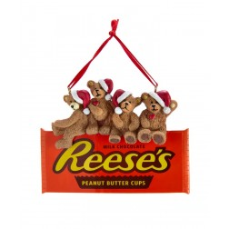 """Image of 3""""Bears On Reese'S Chocolate Orn"""