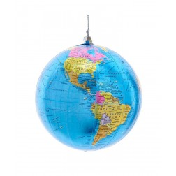 "Image of 4""Light Blue/Silver Globe Orn"