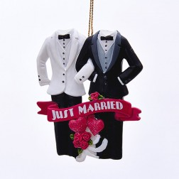 Painted Same Sex Marriage Ornament