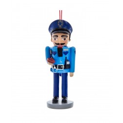 "Image of 5""Resin Police Nutcracker Orn"