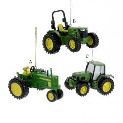 "2"" John Deere Tractor Ornament"