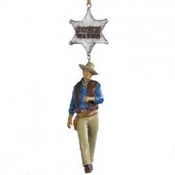 John Wayne Rio Bravo Christmas Ornament