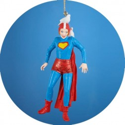 "Image of I Love Lucy ""Super Lucy"" Character Christmas Ornament"