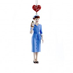 "Image of 5.5"" Resin Lucy Vitameatavegamin Ornament"