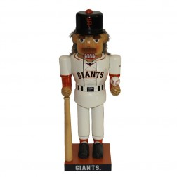 "14"" Giants Baseball Player Nutcracker"