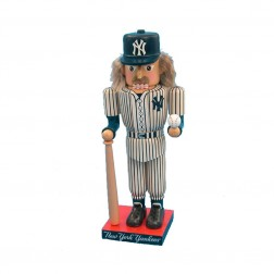 "14"" Yankees Baseball Player Nutcracker"