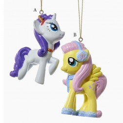 """3.25"""" My Little Pony Blow Mold Ornament"""