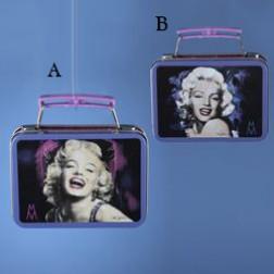 Marilyn Monroe Mini Tin Lunch Box Ornament