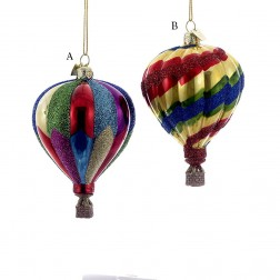 """Image of 3.5"""" Noble Gems Hot Air Balloon Ornament"""