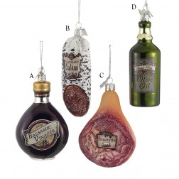 "3.5"" Noble Gems Italian Food Ornament"