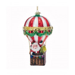 "Image of 5.5""Nobl Gems Santa Hot Air Balloon"