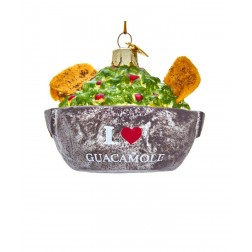 "Image of 4.25""Noble Gems Guacamole Bowl Orn"