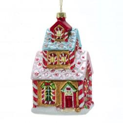 "Image of 5""Noble Gems Gls Gingerbread House"