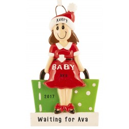 Mom To Be Personalized Christmas Ornament