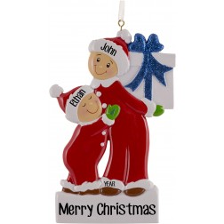 Image of Big Brother Boy Personalized Christmas Ornament