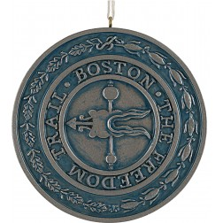 Image of Freedom Trail Personalized Christmas Ornament