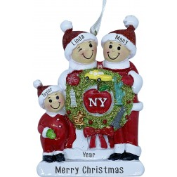 Image of New York  Wreath Family - 3