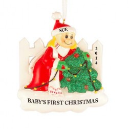 Decoration Girl Personalized Christmas Ornament