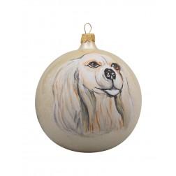Cocker Spaniel Glass Ball Christmas Ornament