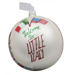 Image of Little Italy NYC Personalized Christmas Ornament