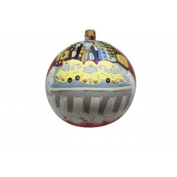 Image of New York Times & Central Park Personalized Christmas Ornament