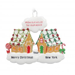 Image of Sweet Neighbors Personalized Christmas Ornament