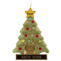 Image for Rockefeller Tree Personalized Christmas Ornament