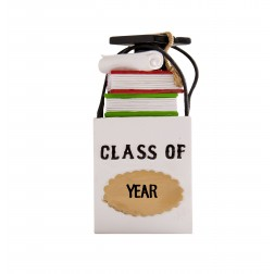 Image of Shopping Bags Graduation 3D Personalized Christmas Ornament