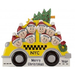 Image of New York Taxi Family Table Top-8