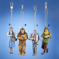 """Wizard Of OzTM - 3.5"""" Mold Clip-ons - Dorothy, Cowardly Lion, Scarecrow or Tinman."""