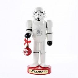 "Image of 10""Storm Trooper W/Ball Nutcracker"