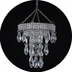 Image of Chandelier Christmas Ornament