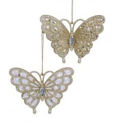 """Image of 3.125""""Acrylc Plat Gltr Butterfly 2A"""