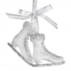"Image of 4.2""Ice Skates W/Glitter Orn"