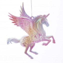 "Image of 4""Plastic Unicorn Orn"