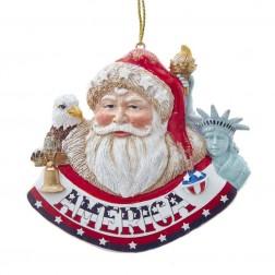 "Image of 3.3""America International Santa Orn"
