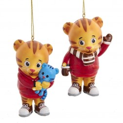 "Image of 3.5""Daniel Tiger Blow Mold Orn 2/A"