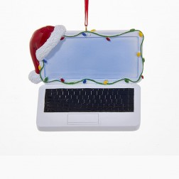 "Image of 3.25""Resin Laptop Orn"