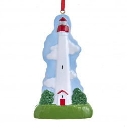 "Image of 4.375""Resin Cape May Lighthouse Orn"