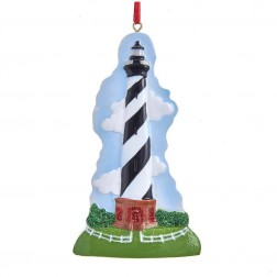 "Image of 4.375""Resin Hatteras Lighthouse Orn"