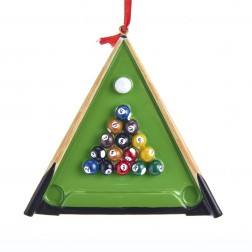 "Image of 3.875""Resin Billiards Orn"